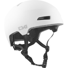 TSG Status Solid Color Kask rowerowy, satin white